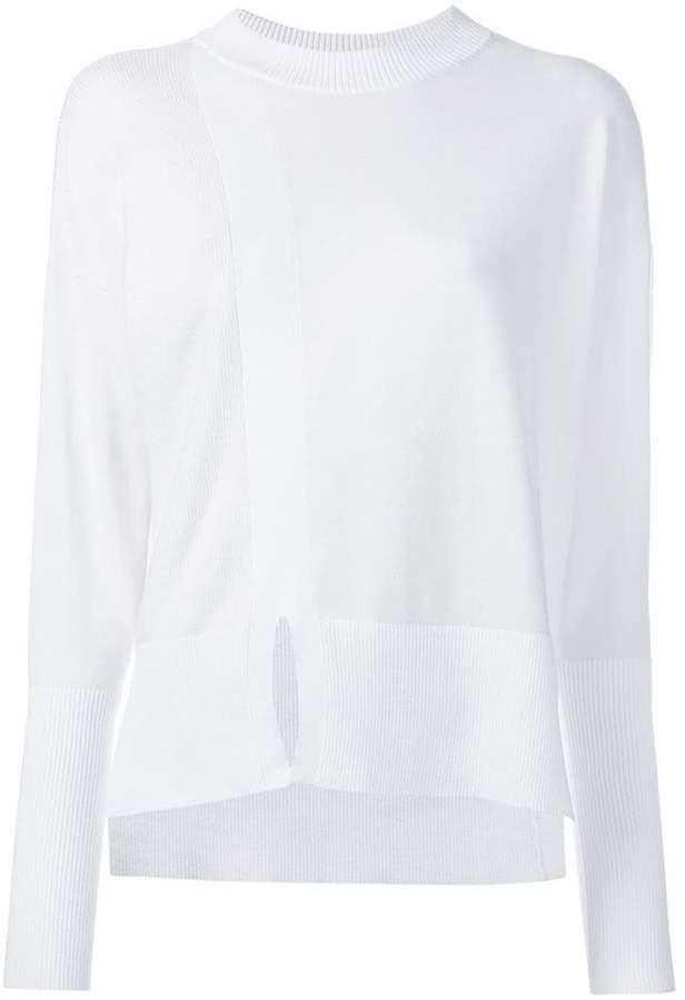 DKNY asymmetric sweatshirt