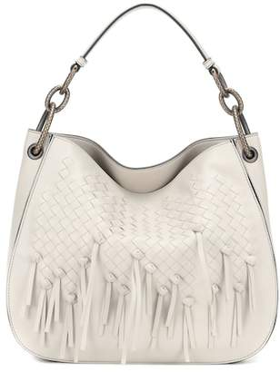 Bottega Veneta Loop intrecciato leather tote