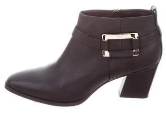 Roger Vivier Leather Buckle Boots