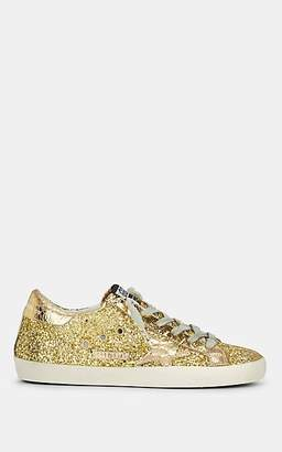 Golden Goose Women's Superstar Glitter Sneakers - Gold