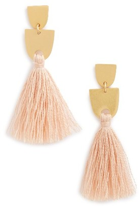 Women's Madewell Tassel Earrings $28 thestylecure.com