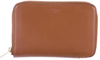 CelineCéline Leather Zip-Around Wallet