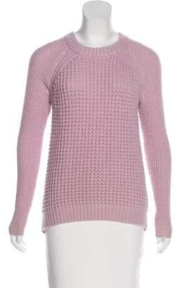 Rebecca Taylor Rib Knit Wool-Blend Sweater
