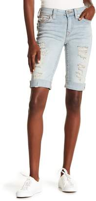 True Religion Curvy Knee Length Shorts