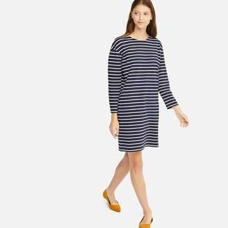 Uniqlo WOMEN Striped Long Sleeve Dress