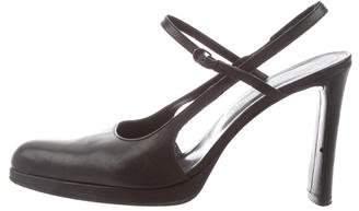 Stephane Kelian High-Heel Leather Pumps