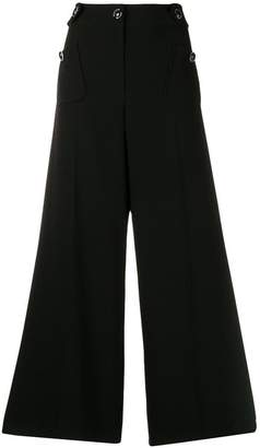 Moschino button cropped trousers