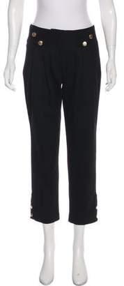 Mayle Virgin Wool Mid-Rise Pants