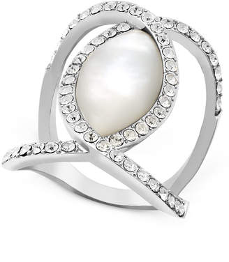 INC International Concepts I.n.c. Pave Crystal Statement Ring, Created for Macy's