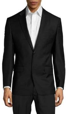 Versace Classic-Fit Solid Twill Sport Coat