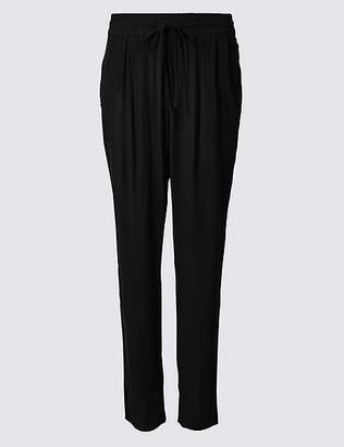 Marks and Spencer Tapered Leg Mid Rise Peg Trousers