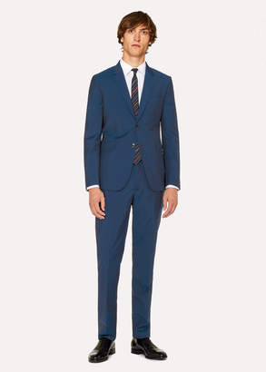 Paul Smith The Kensington - Men's Slim-Fit Teal Wool-Mohair Suit