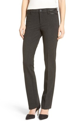 Women's Nydj Marilyn Straight Leg Ponte Pants $110 thestylecure.com