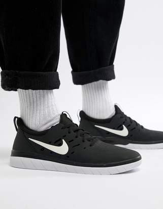 Nike Sb SB Nyjah Free Skateboarding Trainers In Black AA4272-001