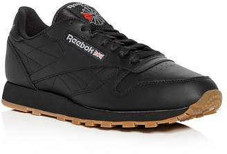 Reebok Men's Classic Leather Lace Up Sneakers