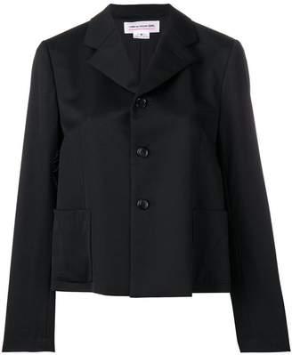 Comme des Garcons short tailored blazer