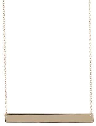 Sterling Forever Bar Pendant Necklace