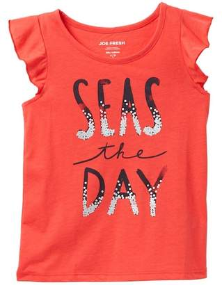 Joe Fresh Elevated Graphic Tank (Little Girls & Big Girls)