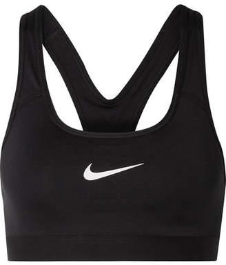 Nike Classic Printed Dri-fit Sports Bra - Black