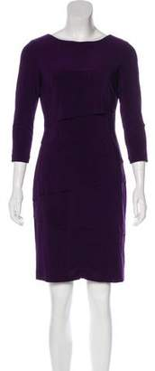 Tahari Arthur S. Levine Ruffle-Accented Mini Dress w/ Tags