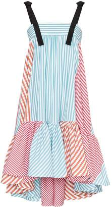 Silvia Tcherassi Calantha stripe flared dress