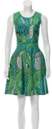 Issa Knit Intarsia Dress