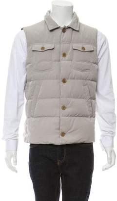 Brunello Cucinelli Puffer Quilted Vest w/ Tags
