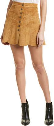 Dolce Vita Scalloped Mini Skirt