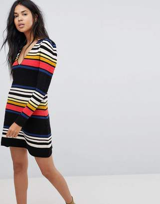 Free People Gidget Striped Sweater Dress