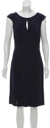 Blumarine Silk Midi Dress