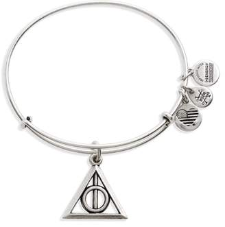 Alex and Ani Deathly Hallows(TM) Adjustable Wire Bangle