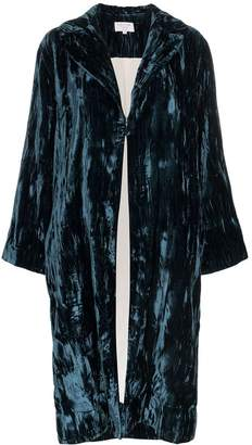 Collina Strada crushed velvet robe