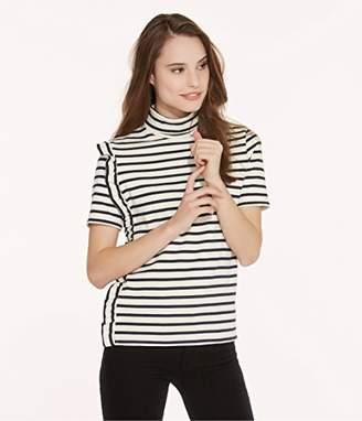 Petit Bateau Women's Mariniere MC COL MO Coq/SM 2550260 T-Shirt,(Size: XS14 XS14ANS)