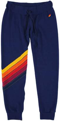 Aviator Nation Cross Stripe Cotton-Blend Sweatpants