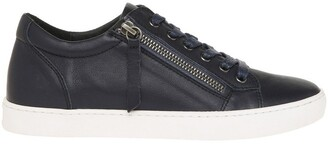 Zia Navy Leather Sneaker