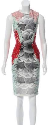 Yigal Azrouel Printed Sheath Dress
