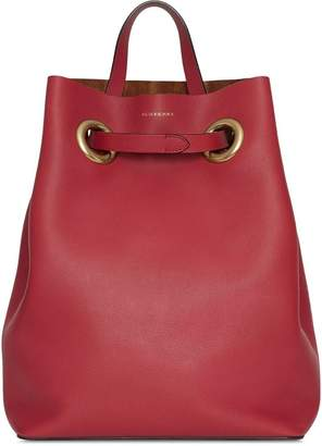 Burberry The Leather Grommet Detail Backpack
