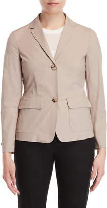 Peserico Beige Blazer Jacket