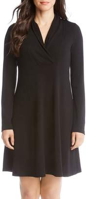 Karen Kane Taylor Surplice Neck Swing Dress