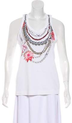 Tory Burch Floral Tank Top