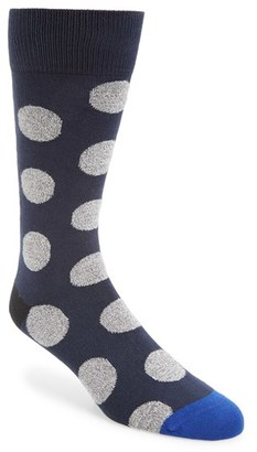 Men's Paul Smith Twisted Dot Socks $30 thestylecure.com