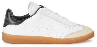 Isabel Marant Bryce White Leather Trainers