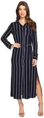 Splendid Rope Print Maxi Dress Women's Dress