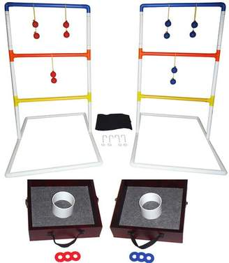 DAY Birger et Mikkelsen Yolo Sports Lawn Toss Combo Washer and Ring Toss and Ladder Ball Set