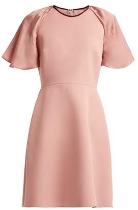 Roksanda Nia Crepe Mini Dress - Womens - Pink