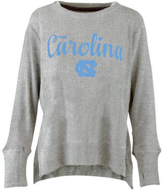 Pressbox Women North Carolina Tar Heels Cuddle Knit Sweatshirt