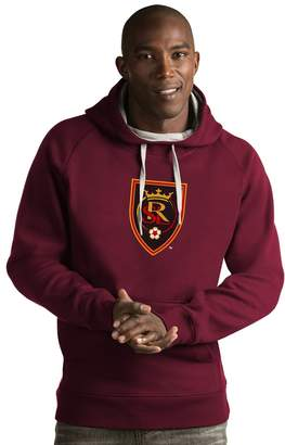 Antigua Men's Real Salt Lake Victory Logo Hoodie