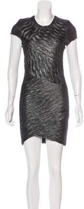 Torn By Ronny Kobo Ruched Mini Dress