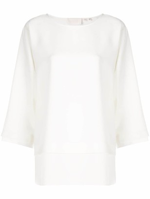 Bamford Watch Department boat neck blouse