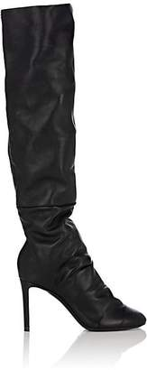 Nicholas Kirkwood Women's D'Arcy Leather Knee Boots - Black